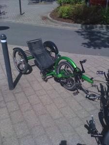 Jouta Front Wheel Drive trike