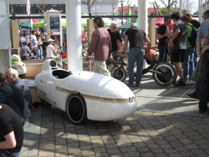 Mango Velomobile Outside Hall 1
