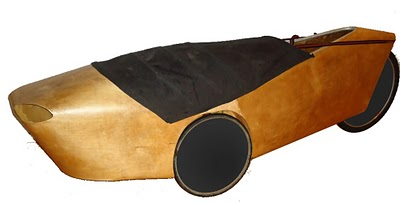 Photo of Plywood Velomobile Prototype 2