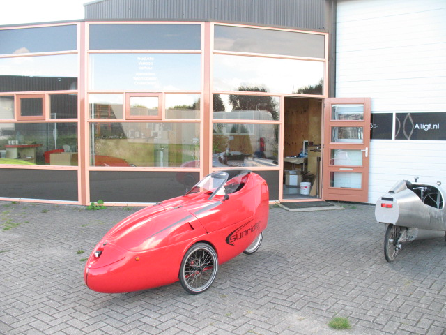 Photo of a Sunrider outside Alligt