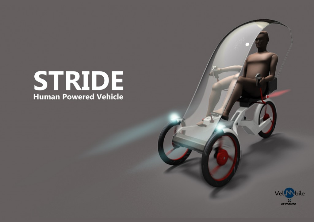 Stride Concept Velomobile