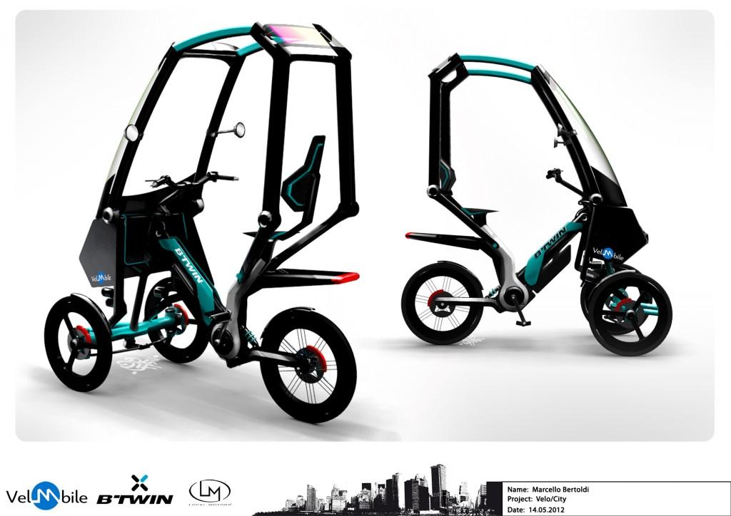 Urban Velo Concept Velomobile