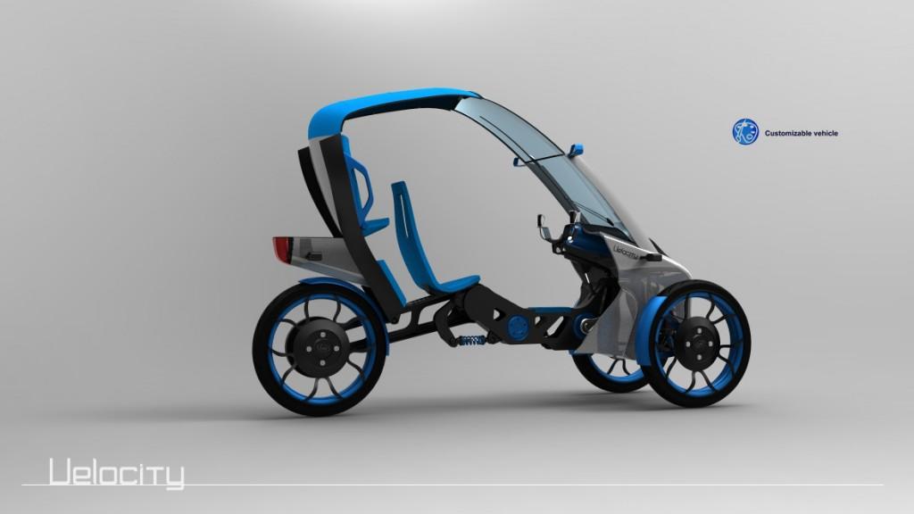 Velocity Concept Velomobile